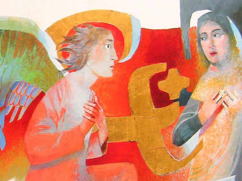 Arcabas, l'artista profeta dl sacro