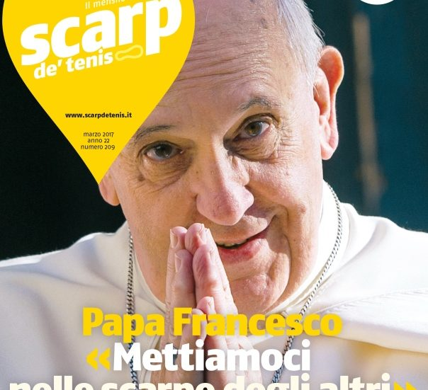 Papa Francesco_Scarp de tenis