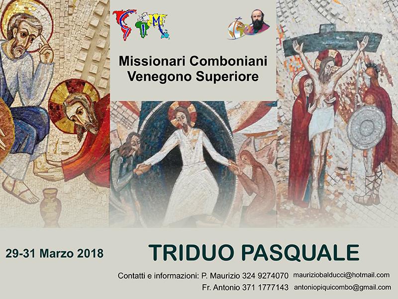 Missionari Comboniani - Triduo pasquale 2018