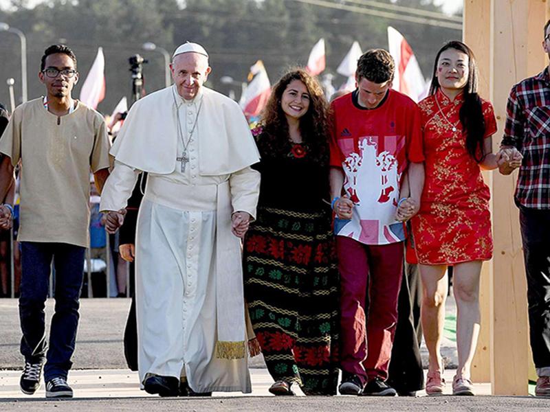 Giovani e Papa Francesco