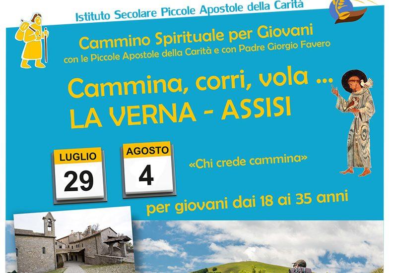 Cammina, corri, vola - La Verna-Assisi