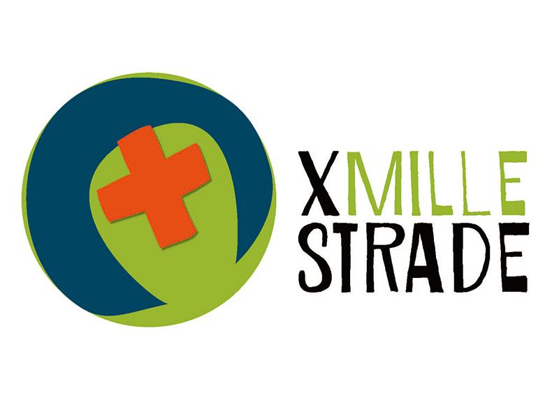 Logo «X mille strade» orizz scritta - Sito
