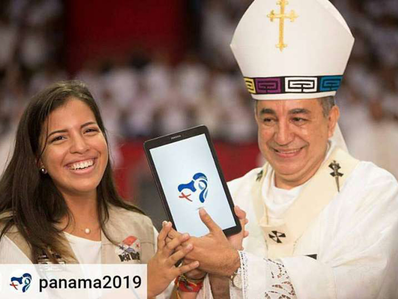 XXXIV GMG di Panama - Vescovo José Domingo Ulloa