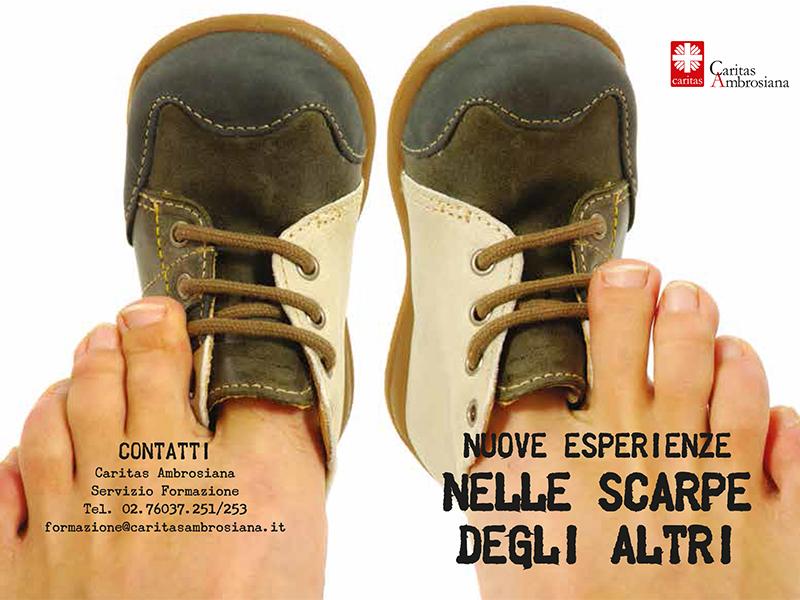 Caritas ambrosiana - Nelle scarpe degli altri