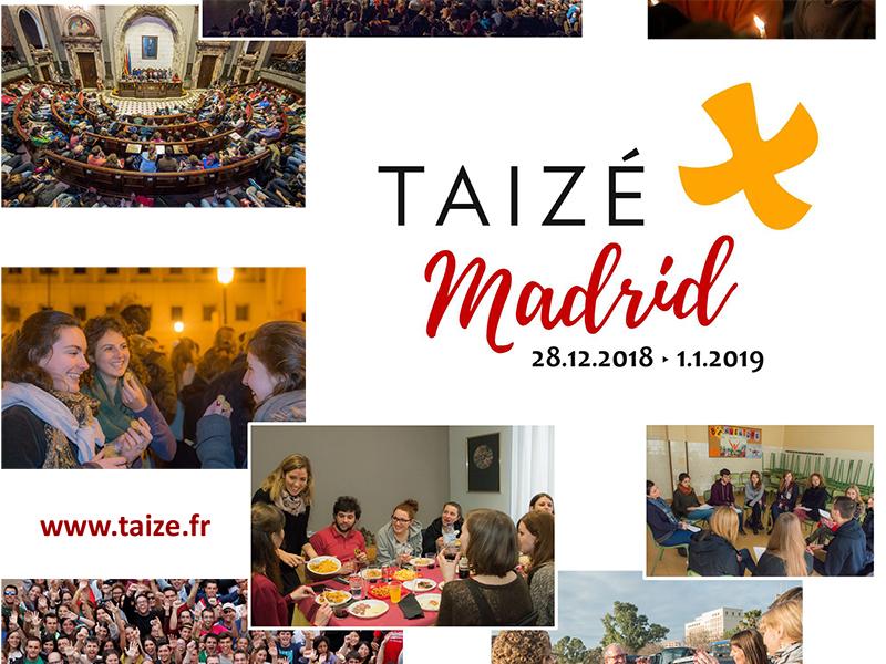Taizé - Incontro europeo dei giovani - Madrid 2018-2019