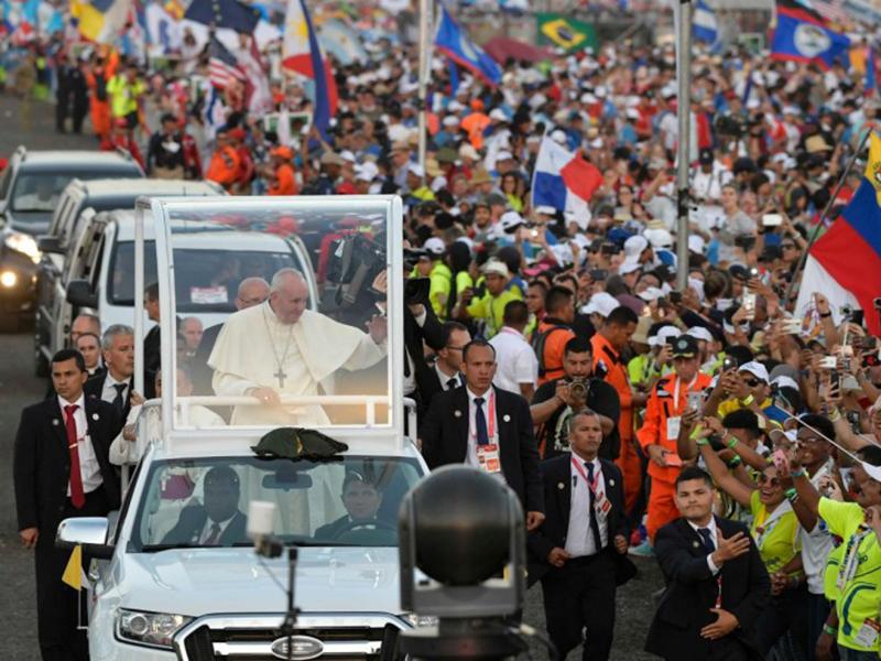 XXXIV GMG di Panama - Papa Francesco