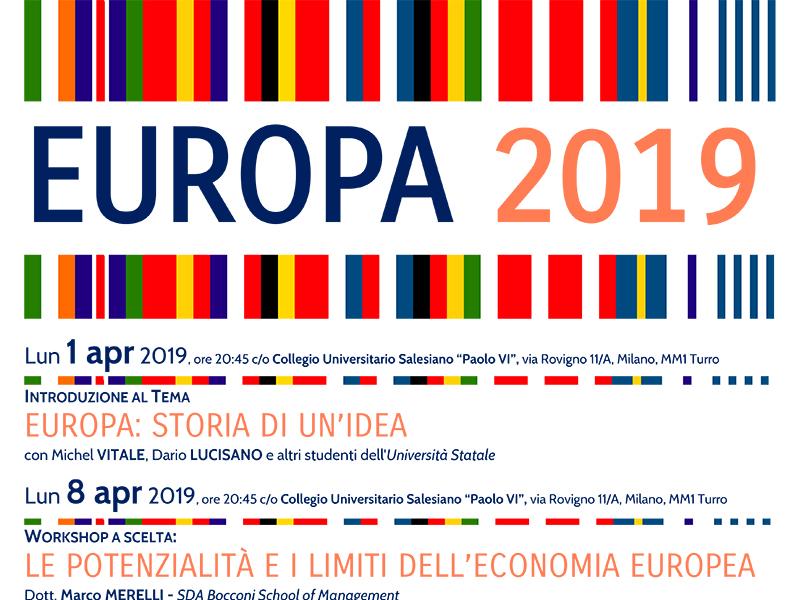 Collegio Paolo VI - Europa 2019 Incontri