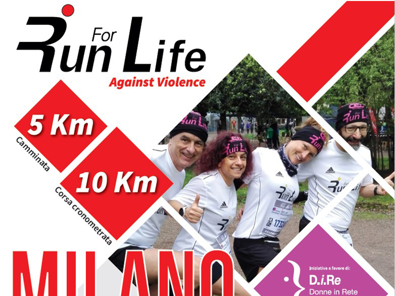 Run for Life. Against violence