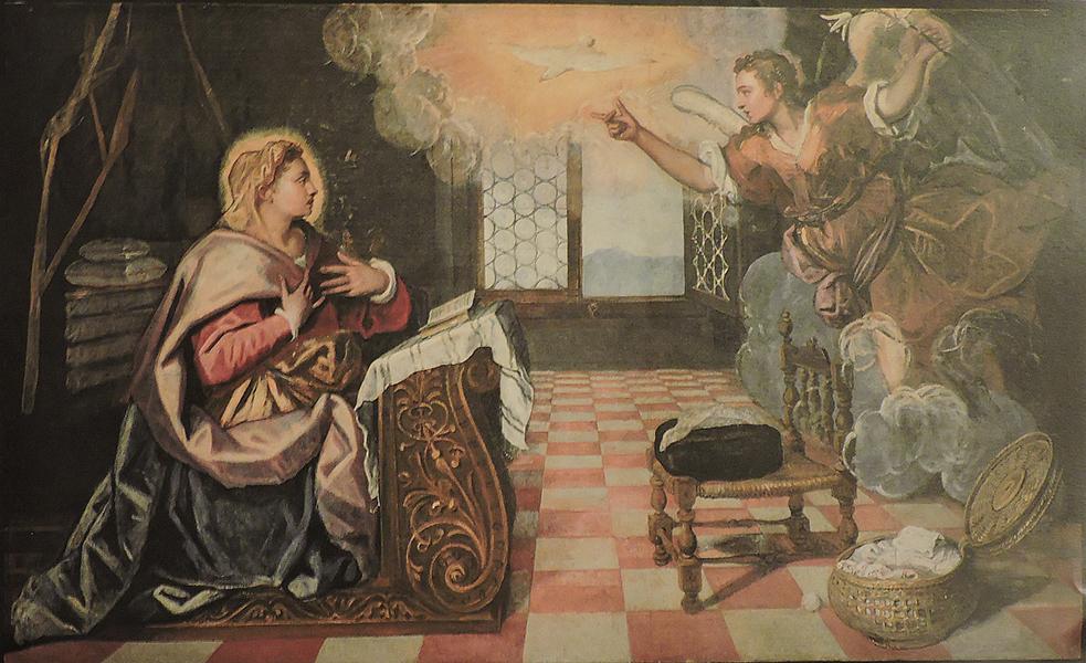 L'Annunciazione del Doge Grimani - Tintoretto