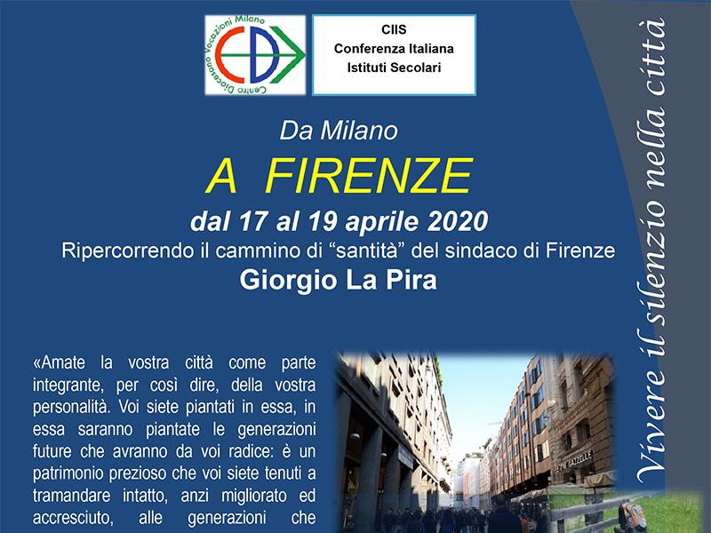 CDV - Da Milano a Firenze