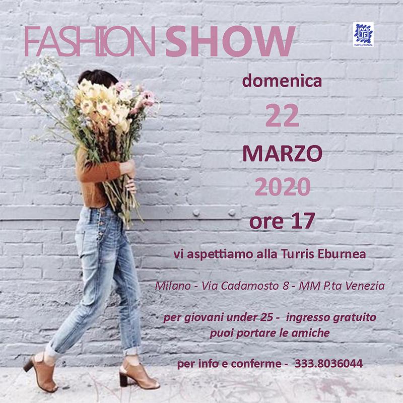Turris Eburnea - Fashion show - 22 marzo 2020