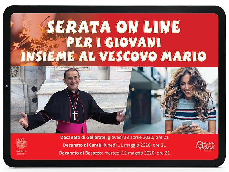 Arcivescovo - Visite pastorali online