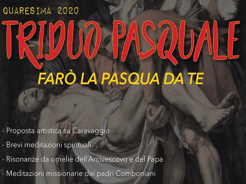 Triduo pasquale online 2020