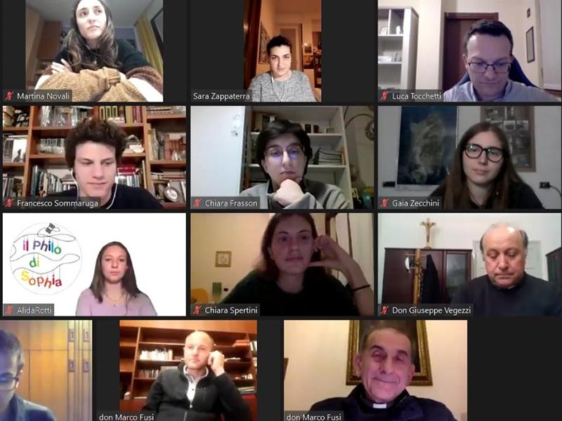 Decanato di Besozzo - Serata online per i giovani