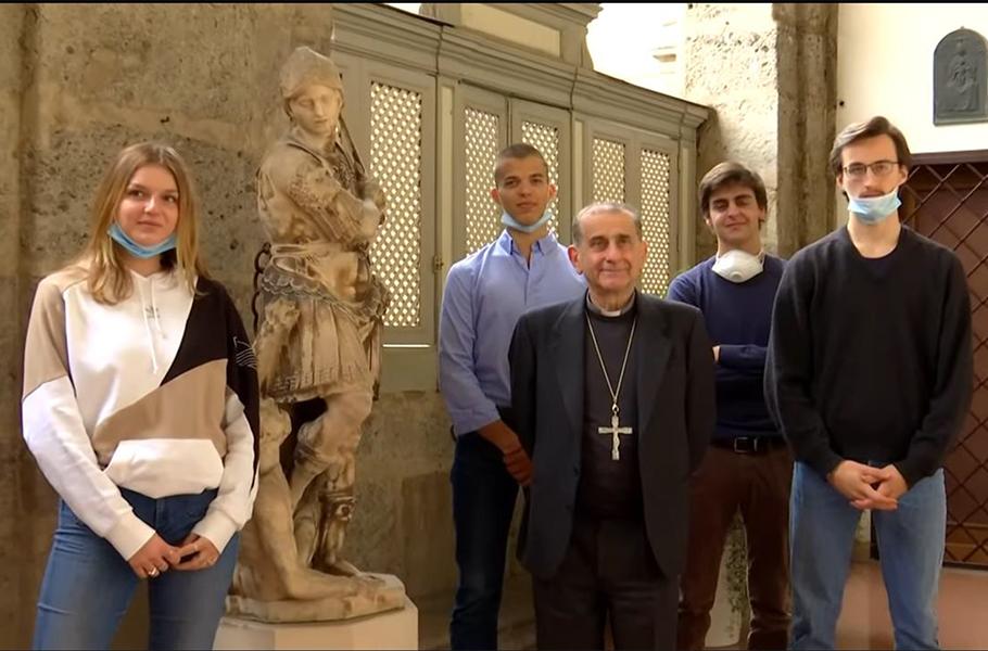 L'Arcivescovo in dialogo con i maturandi - articolo resoconto