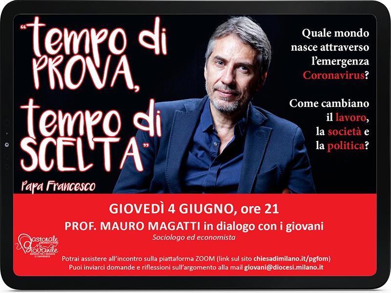 Prof. Magatti in dialogo con i giovani