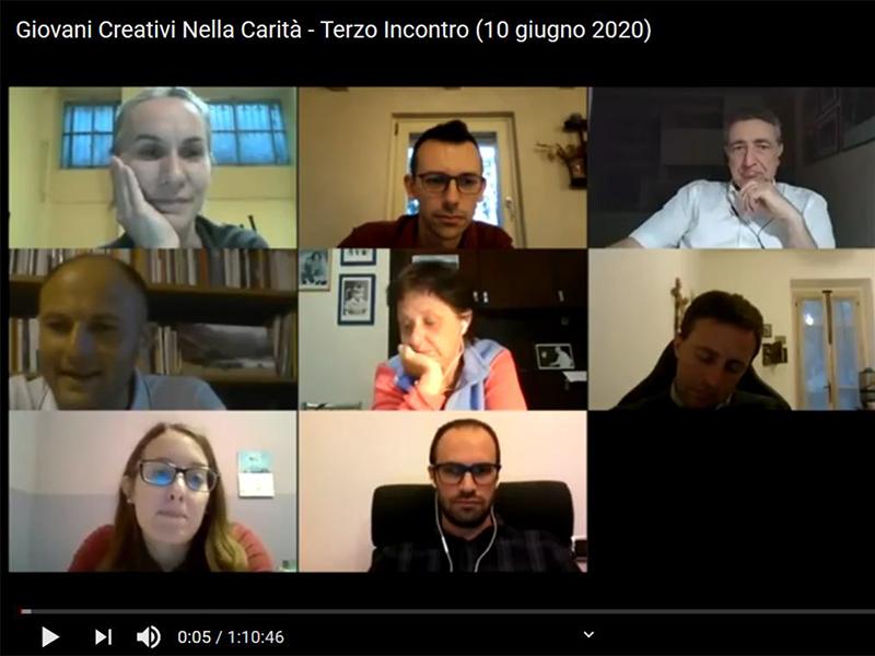 Giovani creativi nella Carità - Immagine terzo incontro