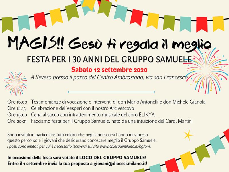 Festa 30 anni Gruppo Samuele