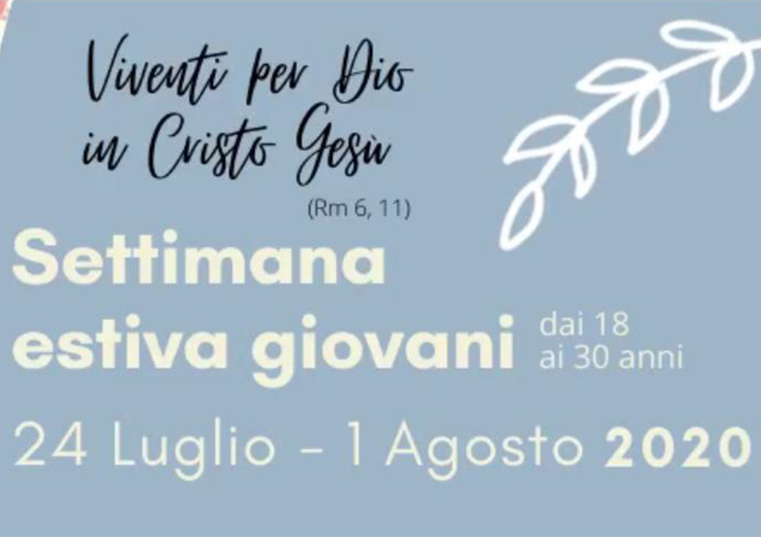 Romite Ambrosiane Sacro Monte Varese - Settimana estiva giovani 2020