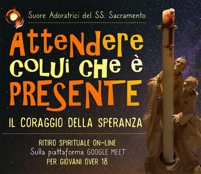 Suore Adoratrici SS. Sacramento - Ritiro spirituale Avvento e Natale online 2020