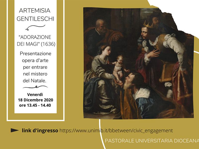 Artemisia Gentileschi - Adorazione dei Magi (1636)