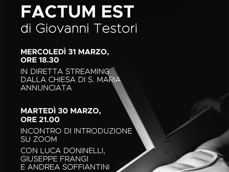 Factum Est