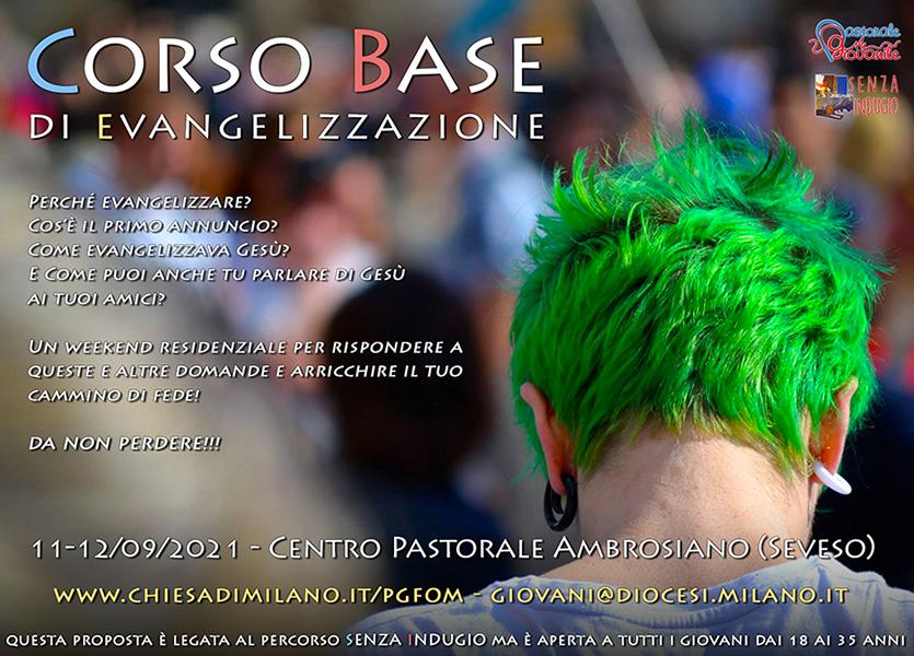 Corso base di evangelizzazione 2021 - Sito