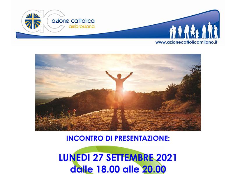 Immagine presentazione Cenacolo 2021-2022