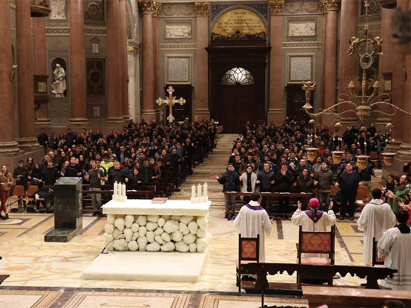 Avvento: le meditazioni dell'Arcivescovo ai giovani della Zona II