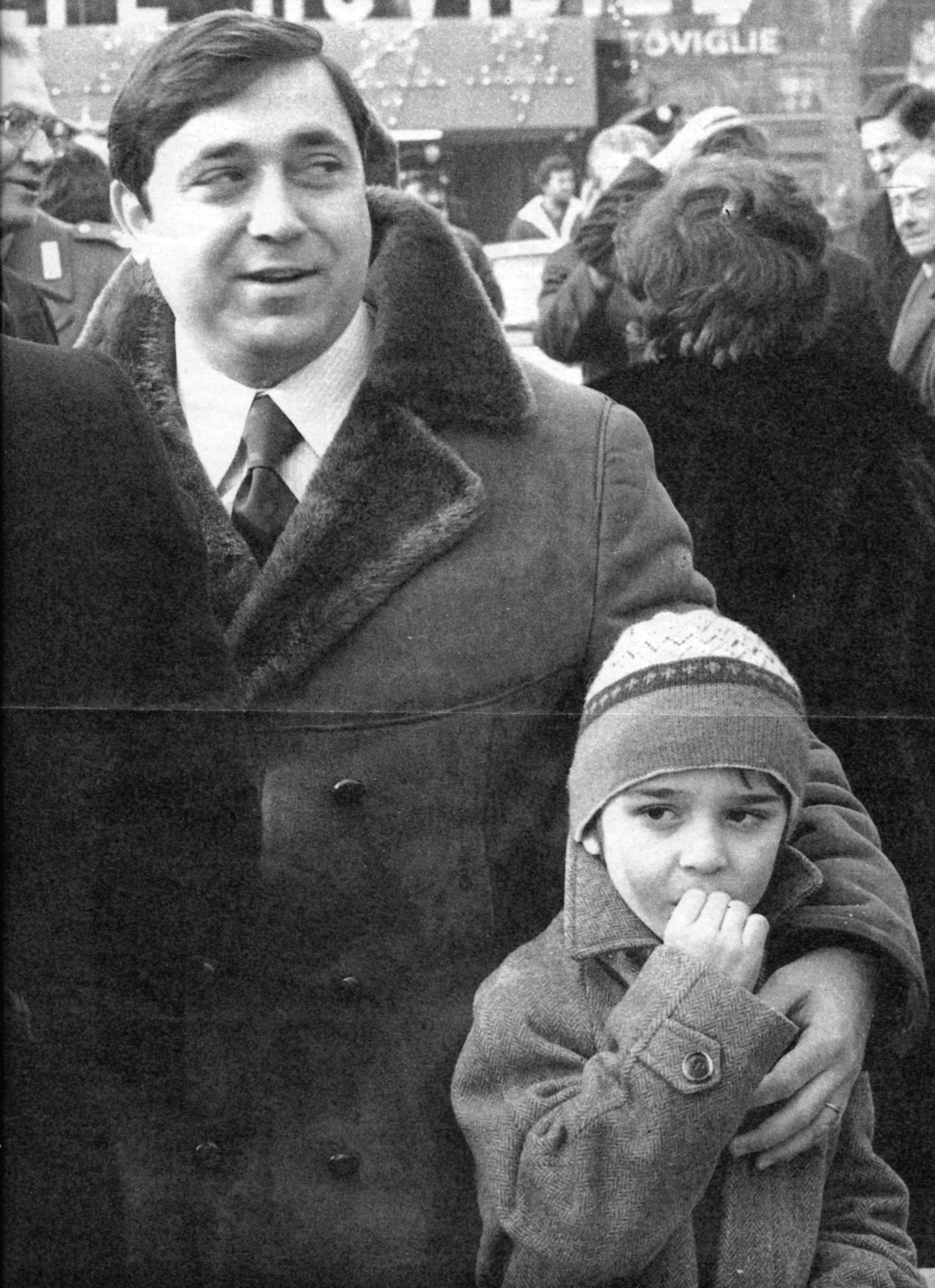 walter tobagi con il figlio Luca