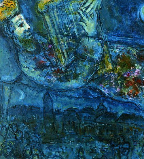 Chagall David Museo Diocesano