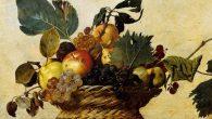 Caravaggio canestra Ambrosiana frutta frutti