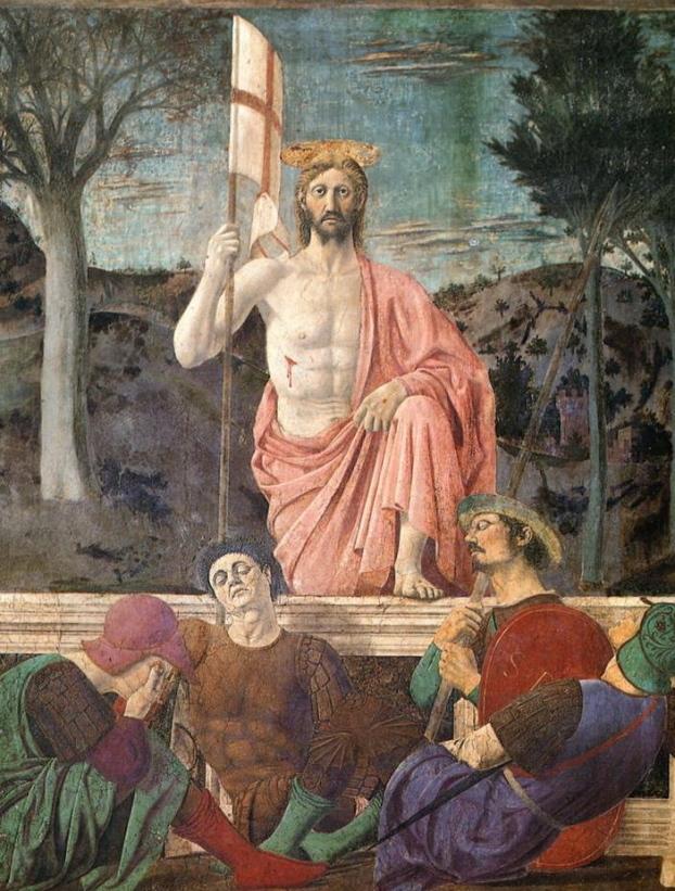 Risurrezione Risorto Piero Francesca