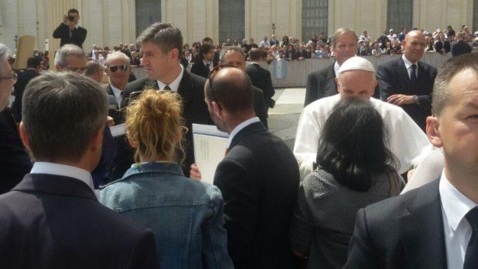 Passione dal Papa