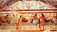 Etruschi tomba Tarquinia