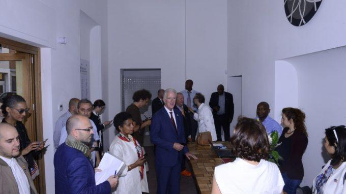 delegazione americana refettorio ambrosiano