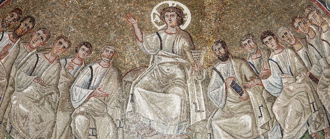 Sant'Aquilino Cristo apostoli mosaico paleocristiano