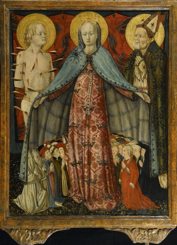 Madonna Misericordia Fabriano Toniolo Museo Diocesano