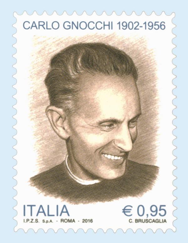Don Gnocchi francobollo poste