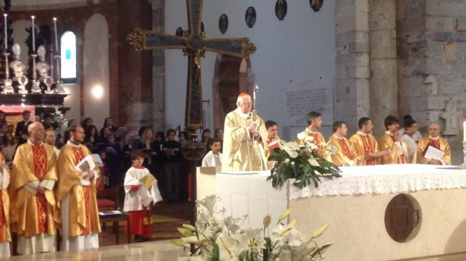 santi apostoli visita pastorale