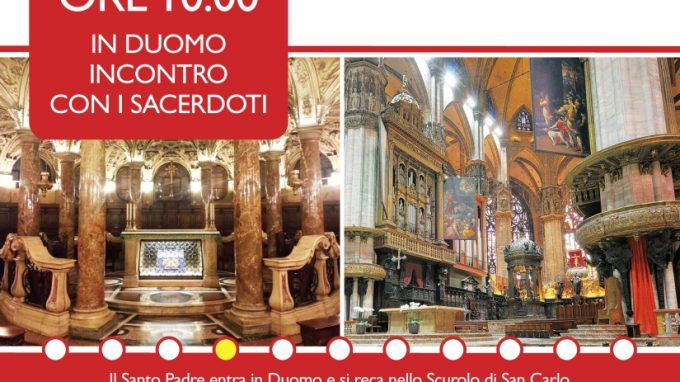 visita papa milano 20165