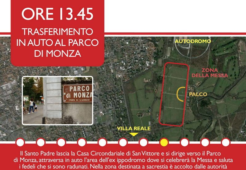 visita papa milano 20169