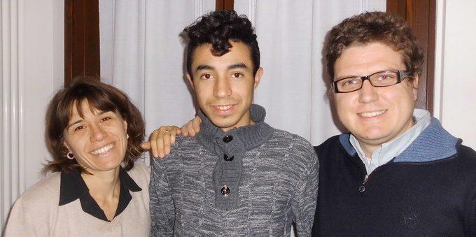 Youssef, Marco e Cecilia Erba