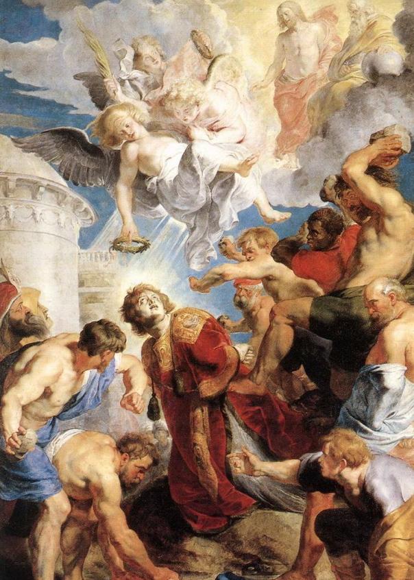 Peter Paul Rubens, Trittico di Santo Stefano ((Musée des Beaux-Arts, Valenciennes)