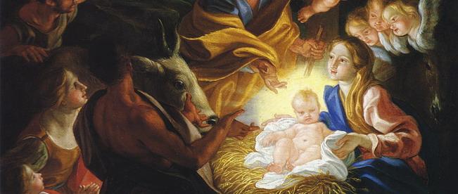 Natività Baciccio San fedele