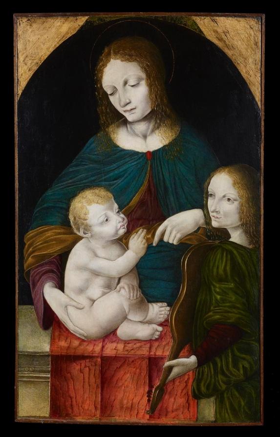 Madonna Bambino Angelo Carrara Legnano