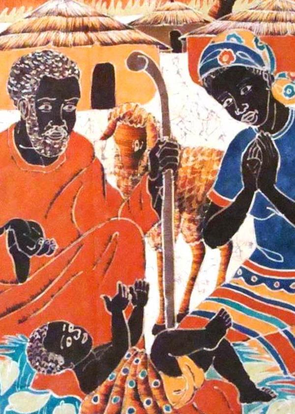 presepe africano