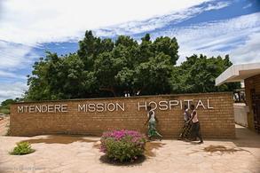 Mtendere Mission Hospital. Ingresso della missione.