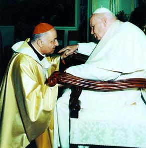 Dionigi e Giovanni Paolo II