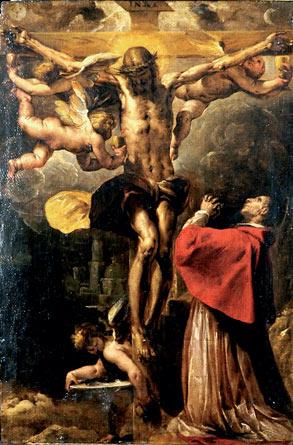 L'amore di san Carlo per il Crocefisso
